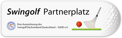 Swingolfplakette Partnerplatz